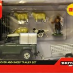 Land Rover And Sheep Trailer 1:32