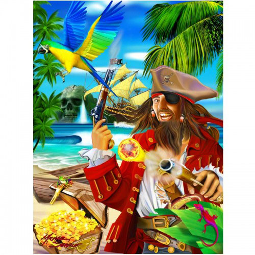 Pirate-3D-Picture