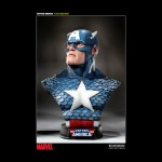 SIDESHOW Captain America Full Scale Bust Zoom Main