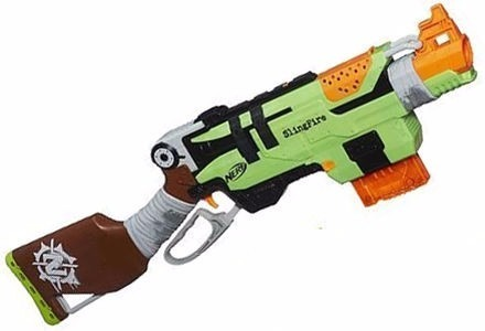 New Kids Soft Dart Guns Nerf Zombie Strike Brainsaw Blaster .
