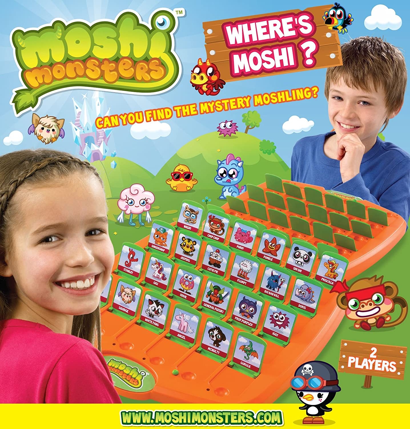 Moshi Monsters Guess Who